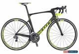 Classic Scott Foil 10 2017 ultegra di2 Carbon fiber Road Bike 58cm for Sale