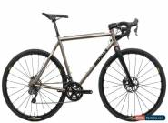 2017 Moots Psychlo X Cyclocross Bike 56cm Large Titanium Shimano Di2 11 Speed for Sale