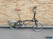 Brompton p6R folding bike World wide shipping  for Sale