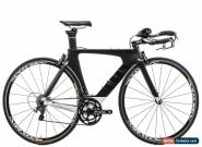 2016 Cervelo P3 Time Trial Bike 48cm Carbon Shimano Ultegra 6800 11 Speed Stages for Sale