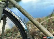 Vintage Tandem Bicycle - Claud Butler - Reynolds 531 lightweight racing tandem for Sale