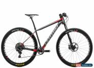 "2016 Cannondale F-Si Carbon 3 Mountain Bike Medium 29"" Carbon SRAM X01 11s Lefty for Sale"