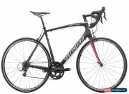 2011 Specialized Tarmac Comp SL2 Road Bike 58cm Carbon Shimano 105 5700 Fulcrum for Sale