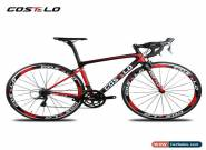 Costelo Carbon Road Bike Complete Bicycle Frameset Wheels Shimano 3500 Group for Sale