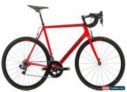 2017 Cannondale SuperSix Evo Hi-MOD Red eTap Road Bike 58cm Carbon SRAM 11s for Sale