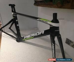 Classic Merida Reacto DA Ltd Edition Full Carbon Fibre Aero Frame Size 54 M/L for Sale