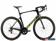 2016 Scott Foil 10 Road Bike 58cm Carbon SRAM Red eTap Zipp 303 Firecrest Quarq for Sale