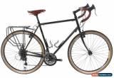 Classic USED 2017 Fuji Touring 58cm Steel Touring Bike 3x9 Speed Brooks Dynamo Upgrades  for Sale