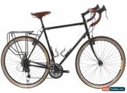 USED 2017 Fuji Touring 58cm Steel Touring Bike 3x9 Speed Brooks Dynamo Upgrades  for Sale