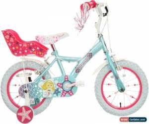"""Classic Apollo Mermaid Kids Bike 14"""" Wheels With Stabilisers Mudguards Childrens Bicycle for Sale"""