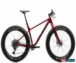 "Classic 2019 Trek Farley 9.8 Mountain Fat Bike 21.5in 27.5""Carbon SRAM GX X01 Eagle for Sale"