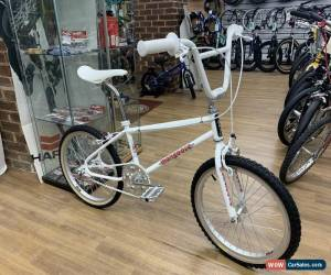 Classic Mongoose 1986 Californian TC Old School BMX Bike White for Sale