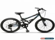 "20"" Teen Kids Children Mountain Bike 7 Speed Bicycle Shimano Full Suspension for Sale"