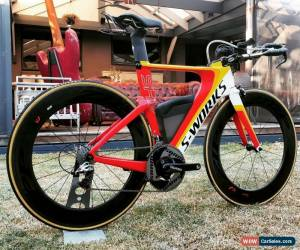 Classic Specialized Shiv S-WORKS carbon Time Trial Road Bike Quarq Zipp for Sale