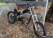 Giant Stiletto Motorised Bicycle Chopper Cruiser Black for Sale