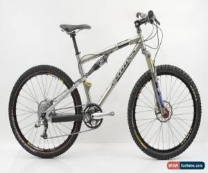 """Classic Titus Racer-X 26"""" Titanium Full Suspension Mountain Bike 17"""" / Small for Sale"""