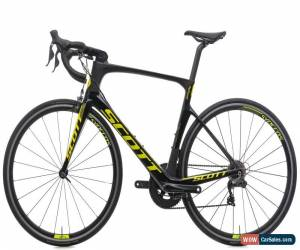 Classic 2017 Scott Foil 10 Di2 Road Bike Large Carbon Shimano Ultegra 6870 11 Speed for Sale