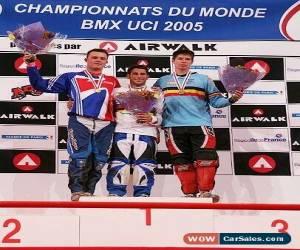 Classic Silver Medal Winning BMX Racing Elite Cruiser Factory Race Team Bike for Sale