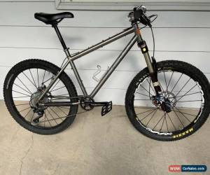 Classic DEAN Titanium Mountain Bike Ti 1x10 Shimano XT, Fox 36 Talas Crossmax Chris King for Sale