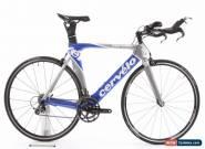 USED 2010 Cervelo P2 54cm Carbon TT Triathlon Bike Shimano Ultegra 2x10 Speed for Sale