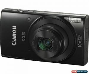Classic CANON IXUS 190 Compact Camera - Black - Currys for Sale