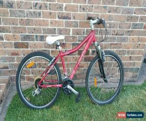 Classic Avanti Series 6061 Sub Mountain Bike - Red W/ Front Suspension & Bottle Holder for Sale