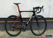 DE ROSA Super King Pininfarina SK Ultegra Di2 Fizik Cyrano R1 size 55 NO WHEELS for Sale