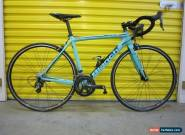 ROADBIKE BIANCHI SEMPRE PRO.CARBON FRAME.SHIMANO GROUPSET.ITALIAN RACEMACHINE.53 for Sale
