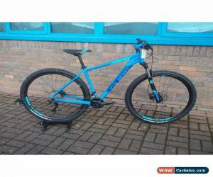 Classic **EX DEMO** Cube Attention SL Hardtail Mountain Bike MTB Cycle 2018 21 Inch Blue for Sale