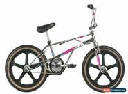 Haro 2019 Lineage Bashguard Team Master 20.5 Bike Chrome with Skyway Tuff Wheels for Sale