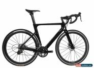 Road Bike Disc Brake Full Carbon 700C Bicycle Frame Wheels Clincher 28C 56cm for Sale