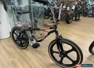 GT Vertigo 1992 Custom Old Mid School BMX Bike Black with Skyway Tuff Wheels for Sale