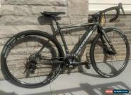 USED Cannondale CAADX Cyclocross Road Bike Black/White 46cm Shimano 105 Parts for Sale