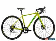 2018 Fuji Cross 1.7 Cyclocross Bike 46cm Aluminum Shimano 105 Disc 2x11 for Sale