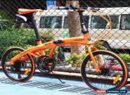 "20"" aluminium alloy frame folding bike road Bicycle shimano 7 speed (Disc-brake) for Sale"