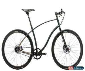 Classic Budnitz Custom Scorcher Commuter Bike Large Titanium Shimano Alfine Di2 Whisky for Sale
