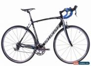 USED 2009 Specialized Tarmac Expert 56cm Carbon Road Bike Ultegra 2x10 Speed for Sale
