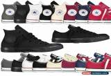 Classic Converse Chuck Taylor All Star Low Ox High Top Mens Womens Trainers All Sizes for Sale