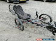 ICE Sprint X 26RS Recumbent Trike Inspired Cycle Engineering Ex-ICE-Demo for Sale