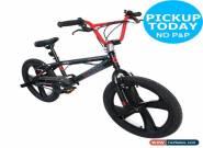 Airwalk 20 Inch Wheels 10 Inch Steel Freestyle Frame BMX Bike - Fahrenheit 600 for Sale