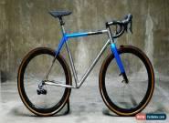 Hand Built KING Titanium Gravel Road Plus Bike / cyclocross carbon custom 650B for Sale