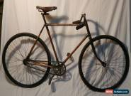 EXTREMELY RARE SCARCE ANTIQUE/VINTAGE WOOD FRAME BIKE BICYCLE. ALLWOOD/CHILION?  for Sale