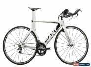 2012 Giant Trinity Composite 1 Triathlon Bike Small Carbon Shimano Rotor for Sale
