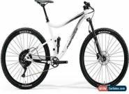 "Merida One Twenty 600 27.5"" 2018 Full Suspension Mountain Bike White Size S for Sale"