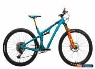 "2019 Yeti SB100 TURQ Mountain Bike Medium 29"" Carbon SRAM XX1 Eagle 12s Fox for Sale"