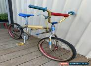 1981 Blue Max Mongoose Race BMX Bike Nickle for Sale