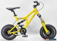 Mini Rig Down hill BMX bike GODL RKR select wheel and grip colour for Sale