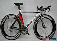 Ambrosio Chrono Carbon TT Bike Large Frame Campagnolo Groupset Without Wheelset for Sale