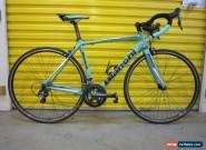 ROADBIKE BIANCHI NIRONE 7.CARBON/ALU FRAME.SHIMANO GROUP.ITALIAN RACE MACHINE.53 for Sale