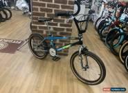 Haro 1987 Vintage Sport Freestyler Old School BMX Custom Bike Black/Teal/Chrome for Sale